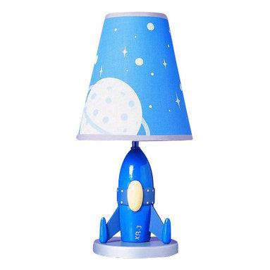 "Cal Lighting - Cal Lighting BO-5644 60 Watt 15"" Kids / Youth Wood Rocket Table Lamp with On/Off - 60 Watt 15"" Kids / Youth Wood Rocket Table Lamp with On/Off Switch from the Kids CollectionSpecifications:"