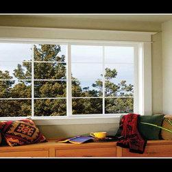 Vinyl Horizontal Sliding Windows - Photo Credit: XO Windows - Vinyl Horizontal Sliding Windows