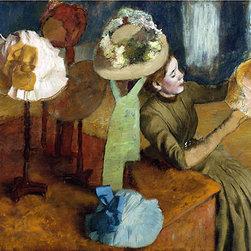 The Millinery Shop, c.1879/86 | Edgar Degas | Canvas Prints - Condition: Unframed Canvas Print