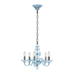 Crystorama - Crystorama 9845-CH-IB Harper Chandelier - This collection was created to appeal to homeowners with a modern eye for design. With a contemporary shape, Harper works well with sparse interiors as a centerpiece on a blank canvas.