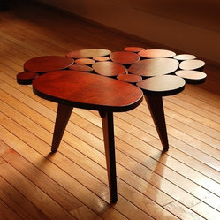Small Circles Coffee Table by michaelarras