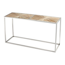 Cyan Design - Cyan Design 06552 Black Forest Grove Aspen Console Table - Cyan Design 06552 Black Forest Grove Aspen Console Table