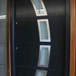 Modern Exterior Door Model 003 - Modern Home Luxury