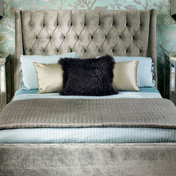 Amelia Bed -  Traditional Glam