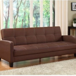 Ameriwood Delaney Sofa Sleeper - Brown
