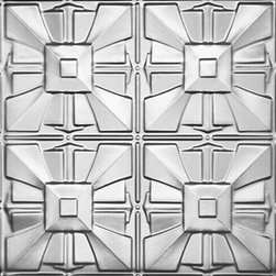 "Decorative Ceiling Tiles - Mayan Temples - Aluminum Ceiling Tile - 24""x24"" - #1212 - Find copper, tin, aluminum and more styles of real metal ceiling tiles at affordable prices . We carry a huge selection and are always adding new style to our inventory."