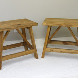 Twin End Tables  SOLD - SOLD!!  Twin Cypress End Tables