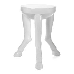 Hoof Legged Table - Your guests won't be able to stop talking about this quirky hoofed table.