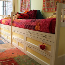 Modern Kids Beds by NR Wood Design Corp