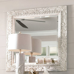 Universal Furniture Paula Deen Carved Mirror In Porch