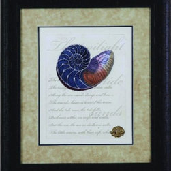 Bassett Mirror - Romance of the Shell I Framed Art - Romance of the Shell I Framed Art by Bassett Mirror