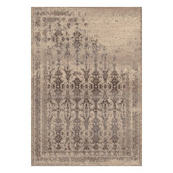 "Dynamic Rugs - Dynamic Rugs Treasure 7913-122 (Beige) 6'7"" x 9'6"" Rug - This Machine Made rug would make a great addition to any room in the house. The plush feel and durability of this rug will make it a must for your home. Free Shipping - Quick Delivery - Satisfaction Guaranteed"
