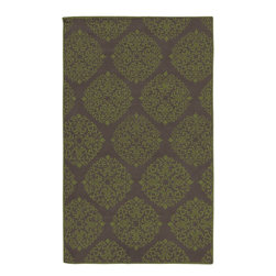 Surya - Contemporary Chapman Lane 5'x8' Rectangle Gray, Fern Green Area Rug - The Chapman Lane area rug Collection offers an affordable assortment of Contemporary stylings. Chapman Lane features a blend of natural Gray, Fern Green color. Hand Tufted of 100% Wool the Chapman Lane Collection is an intriguing compliment to any decor.