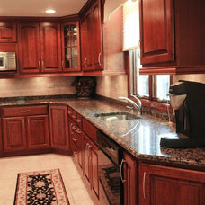 Contemporary Kitchen by DJ's Home Improvements