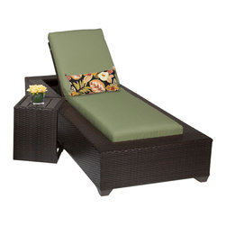 TKC - Kokomo Chaise Outdoor Wicker Patio Furniture 2 for 1 Cover Set - The Kokomo Collection has a beautiful yet simple design. The Espresso all-weather wicker comes in rich tones of brown which gives it a warm and luxurious feel.