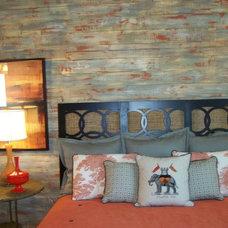 Eclectic Bedroom by Anita Roll Murals