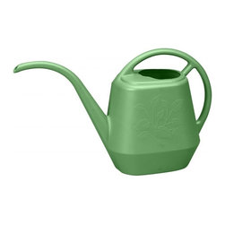 Bloem - Bloem 144 oz. Aqua Rite Watering Can Gre- Fresh JW4128, 6 pack - Perfect for indoor plants