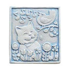 Carruth Studio - Music In The Air Wall Plaque - 742A - Shop for Wall Art from Hayneedle.com! The Music in the Air Wall Plaque is a fun addition to your outdoor scene. It s made in the USA from hand-cast stone and is available in two colors.About Carruth StudeoWe've chosen to carry Carruth Studio designs based on their integrity and authentic dedication to aesthetics. Since 1983 sculptor George Carruth has been creating whimsical images out of limestone concrete and clay all with one thing in common: the ability to make people smile. With a nod toward the world of nature Carruth's signature works include a menagerie of bunnies cats frogs and other delightful creatures flowers angels celestial bodies and magical beings. The company is located in Ohio. We think you'll find Carruth designs lovely and interesting a perfect choice for your outdoor area.