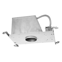"""Progress Lighting - Progress Lighting P817-At 4"""" Low Voltage New Construction Air-Tight & Ice Housin - Progress Lighting P817-AT 4"""" Low Voltage New Construction Air-Tight and IC Housing"""