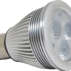 Antares Lighting - Alcor 7W PAR20 LED Bulb - Dimmable - The Alcor PAR20 LED series provides high lumen output while consuming only a fraction of the energy used by halogen PAR lamps