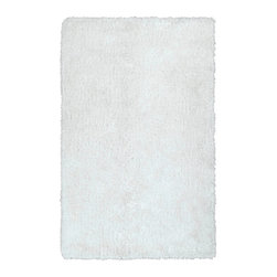 """Kaleen - Kaleen Posh Collection PSH01-76 2'3"""" x 8' White - Posh is the perfect rug to make your feet say ooh and ahhh!! Super plush and silky to the touch, this hot new shag rug is exactly what your room has been asking for! Find the perfect spot to curl up on after a long day or bring in your favorite pop of color for a complete room makeover. The Posh collection allows for diversity and fashionable style for all of your decorating needs with over 20 colors to choose from. Each rug is handmade in China of the finest 100% polyester."""