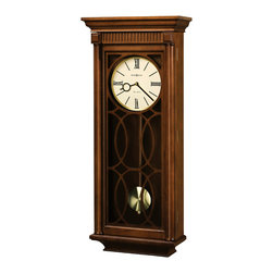 Howard Miller - Howard Miller Contemporary Triple Chime Wall Clock with Pendulum | KATHRYN - 625525 KATHRYN