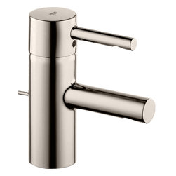 Grohe - Grohe 32216EN0 Polished Nickel Essence One Handle Lav Faucet - Grohe 32216En0 Polished Nickel Essence one handle Lav Faucet
