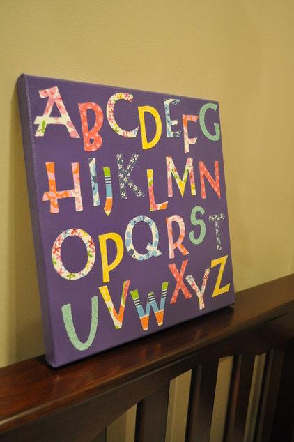 Modern Artwork Alphabet Art for Nurseries/Kids Rooms/Playroom