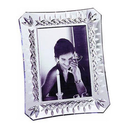 """Waterford-""""Lismore"""" Frames - For a gift that will go straight to the heart, surpise your love one with a favorite photo of the two of you, beautifully displayed in a Waterford Lismore frame.  Waterford is known for unsurpassed quality and this frame in the classic Lismore design will be a cherished piece for many years to come.Available in sizes: 4"""" x 6"""" or 5"""" x 7"""""""