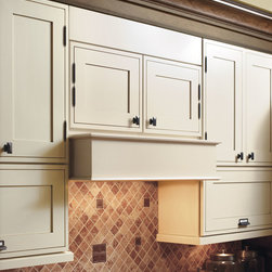 Decora Wood Canopy Hood - Don't settle for an off-the-shelf hood for your favorite cooking spot.  Continue the warmth and beauty of cabinetry with a wood hood from Decora.