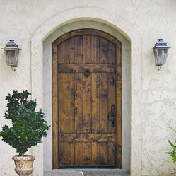Country French Exterior Wood Entry Door Collection - DbyD-2023
