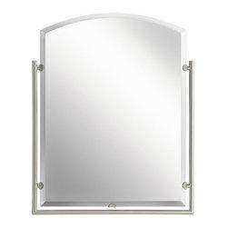 Kichler - Kichler 41056NI Modern Arched Mirror from the Structures Collection - Arched Mirror from the Structures Collection