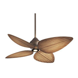 Minka Aire Fans - Gauguin Indoor/Outdoor Ceiling Fan with Light by Minka Aire Fans - Tropical style meets strong performance. Featuring all-weather blades and stainless steel supports, the Minka Aire Gauguin Indoor/Outdoor Ceiling Fan encourages an al fresco lifestyle. Uses a full function wall control that offers 3 forward/reverse fan speeds and advanced lighting capabilities. The Minka Group, located in Corona, CA, offers a variety of products, including Minka Aire fans, Minka Lavery lighting, and George Kovacs fans and lighting.The Minka Aire Gauguin Fan is available with the following:Details:Integrated downlightIncludes cap for no-light use4 all-weather bladesIncludes WC212 remote3 forward/reverse fan speedsOn/off plus full range light dimmer Remote operates up to 40' from fanCompatible with handheld RC212 (see Related Products)