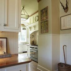 Traditional Kitchen by Elizabeth Hagins Interior Design