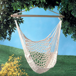 KOOLEKOO - Hammock Chair - Perfect to hang on porch or branch. This comfy cradle chair will quickly become your favorite place to relax! Max. Wt.: 200 lbs.