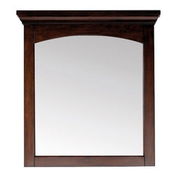 Pegasus - Vermont 30 in. Wall Mirror - 9078M30 - Manufacturer SKU: 9078M30. Beveled mirror. Wood cleat at back for hanging. Made from mahogany solid wood and veneers. Mahogany finish. 30 in. W x 38 in. H (33 lbs.)