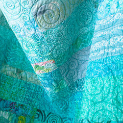 Custom Modern Quilts - Modern quilt made to order in a variety of sizes.  Please ask about payment plans to make a quilt purchase easy for any budget.