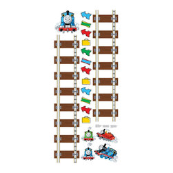 York Wallcoverings - Thomas Train Growth Chart Large Wall Accent Decal Set - Features: