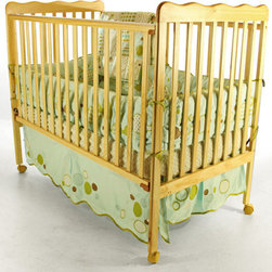 Dream On Me - Classic Convertible Crib - Features: -Full size.-Material: Pinewood.-Multi functional.-Station rail design.-Dual hooded.-Safety locking wheels.-Converts to toddler day bed.-Standard size mattress and sold separately.-Non-toxic finish.-Classic collection.-Collection: Classic.-Distressed: No.Specifications: -3 level mattress support.Dimensions: -40 - 54'' H x 31'' W x 40 - 54'' D, 36 lbs.-Overall Product Weight: 36 lbs.Warranty: -Manufacturer provides 30 days limited warranty.