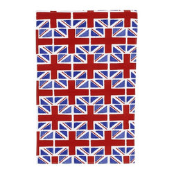 Union Jack Tea Towel - From tea towels to tea cozies, just adding a touch of the Union Jack is fun for tea time.