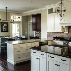 Transitional Kitchen by Margaret Donaldson Interiors