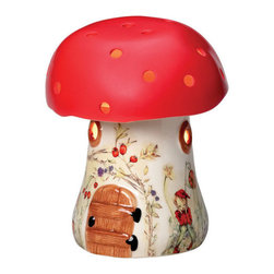 Bramble Nightlight - This nightlight is made in the UK and has a lovely vintage style. I love the larger scale of the mushroom, but it's definitely a decorative element for a nursery, considering its expensive price tag.