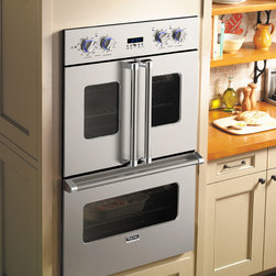 "Viking 30"" Electric Double French-Door Oven - VDOF730 - Viking VDOF730 - 30"" Double Electric French-Door Oven"