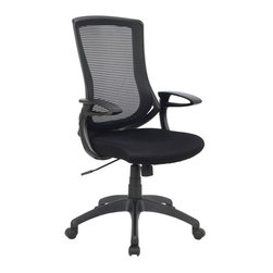 VIVA - VIVA OFFICE®High-Back Black Mesh Adjustable Recliner Office Computer Chair - VIVA Office, the professional office furniture supplier, now provides a great variety of excellent office chairs including ergonomic desk chair, task chair, executive & managerial chair, and more. With the combination of global intelligence, high quality material, reliable performance, and world class ergonomic design, VIVA keeps bringing best sitting experience to customers all over the world!