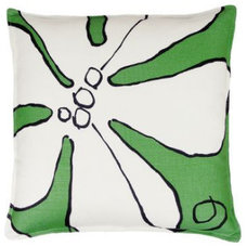 eclectic pillows by Hable Construction