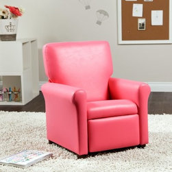 Urban Vinyl Childrens Recliner - Fuchsia - About Ace Bayou CorporationAce Bayou Corporation was founded in 1986 and has grown into a group of diverse lifestyle-focused divisions. They all feature innovative quality products at prices that allow everyone to enjoy the benefits. Their lifestyle furniture division features youth and adult casual furniture including unique bean bags video rockers recliners and special seating products. As a recognized innovator in these categories Ace Bayou provides products that fit your lifestyle.