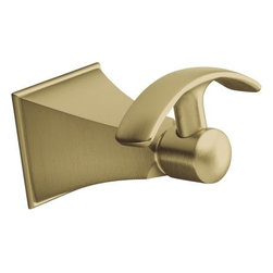 """Kohler - Kohler K-492-BV Brushed Bronze Memoirs Memoirs Single Robe Hook - Memoirs Single Robe Hook With rich detailing and crisp lines, the Memoirs Collection with Stately design offers refined elegance reminiscent of classical architecture. This convenient robe hook provides a stylish finishing touch for your bathroom. Kohler K-492 Features:  2-5/8""""W x 3-1/4""""D x 2-1/16""""H Completes Memoirs Stately design solution with Kohler faucets and fixtures Kohler finishes resist corrosion and tarnish Solid brass construction for durability and reliability Tools and installation hardware included"""