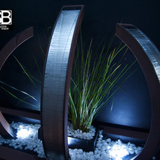 Outdoor Fountains by H2O Designs