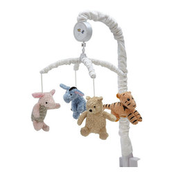 NoJo My Friend Pooh Musical Mobile - Winnie the Pooh and friends will keep any little one in happy company. Even better, this sweet mobile would work with any neutral decor.