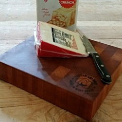 The Kristen - Limited on space? Do you need a board for small items like fruit, cheeses, or small vegetables? This little gem is easy to store away and show off!